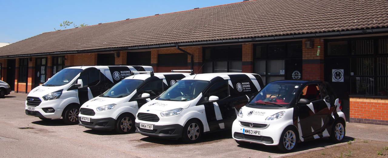 Mason's service fleet